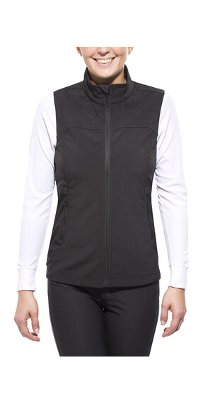 axant Alps Softshell Vest Women black
